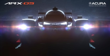Acura Teases New ARX-05 Prototype Race Car