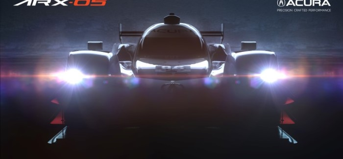 Acura ARX-05 Prototype Race Car – Video