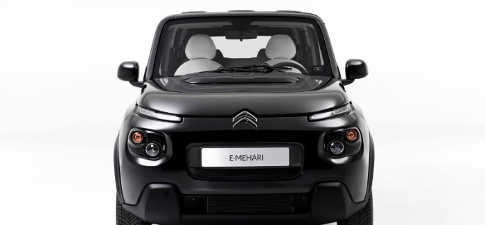 Citroen E-Mehari by Courreges – Video