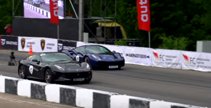 Drag Race - Ferrari 488 GTB vs Ferrari F12 Berlinetta (1)