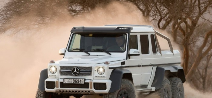 Mercedes G63 AMG 6×6 Explained – Video