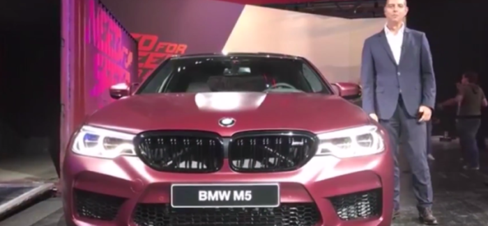 New 2018 BMW M5 Unveiling – Video