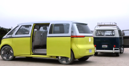 Production Announcement For VW I.D. Buzz in Pebble Beach