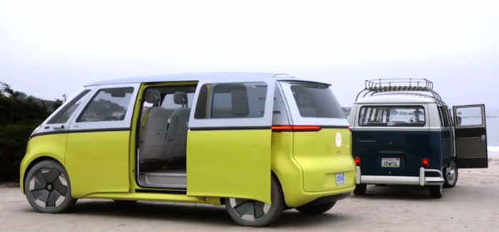 Production Announcement For VW I.D. Buzz in Pebble Beach – Video