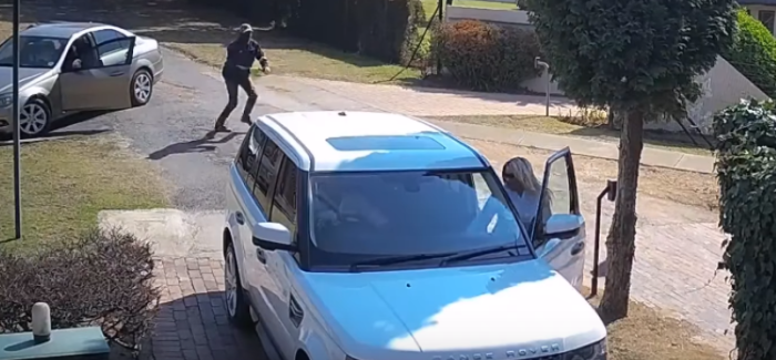 Range Rover CarJack Fail – Video | DPCcars