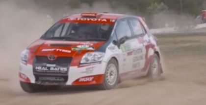 Toyota Yaris AP4 Rally Car Driven By Harry Bates