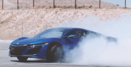 Ultimate 2017 Acura Honda NSX Action Footage