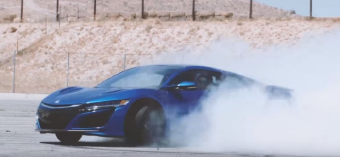 Ultimate 2017 Acura Honda NSX Action Footage –  Video