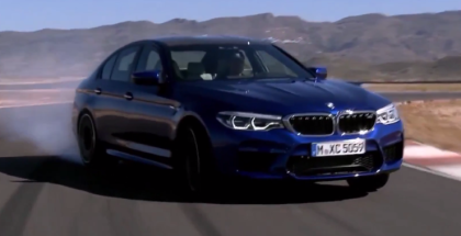Ultimate 2018 BMW M5 Action Footage