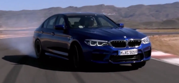 Ultimate 2018 Bmw M5 Action Footage Video Dpccars