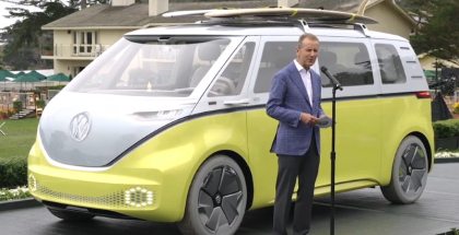 VW I.D. BUZZ Bus Presentation in Pebble Beach