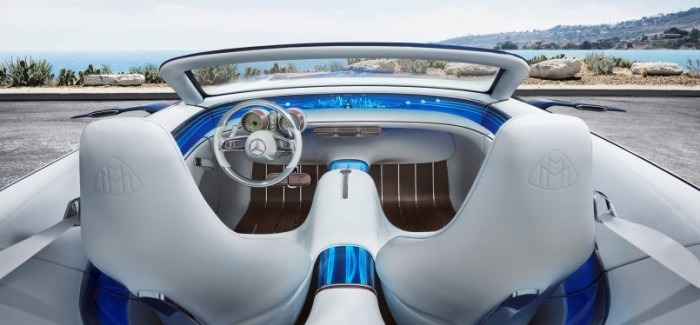 Vision Mercedes Maybach 6 Cabriolet Interior Explained – Video