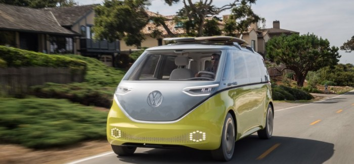 Volkswagen I.D. BUZZ Electric Vehicle To Go Into Production – Video