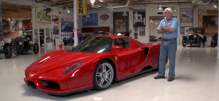 2003 Ferrari Enzo Jay Leno Review – Video