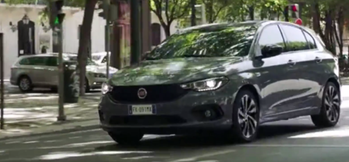 2017 fiat tipo s design video dpccars. Black Bedroom Furniture Sets. Home Design Ideas