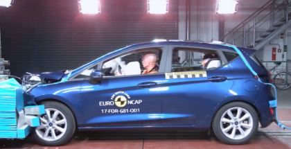 2017 Ford Fiesta Crash Test & Rating