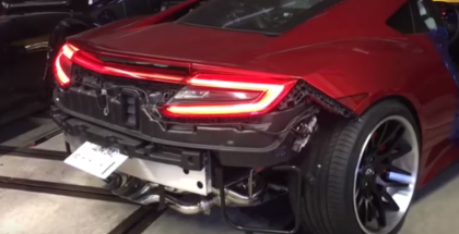 2017 Honda Acura NSX WIth Fi Exhaust (1)