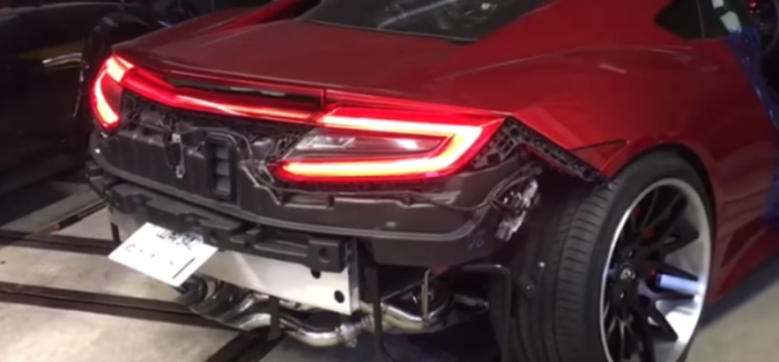 2017 Honda Acura NSX With Fi Exhaust – Video