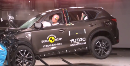 2017 Mazda CX 5 Crash Test & Rating
