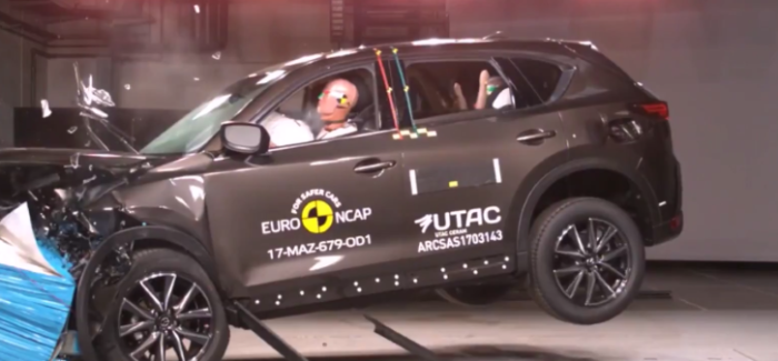2017 Mazda Cx 5 Crash Test Rating Video