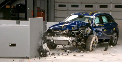 2017 Mercedes GLC Crash Test & Rating