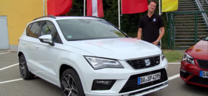 2017 Seat Ateca FR & Seat Leon Cupra 300 Test Drive Review – Video