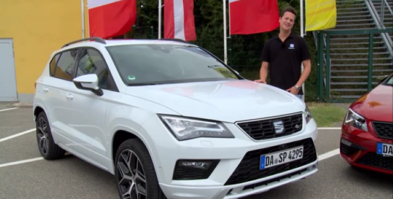 2017 seat ateca fr seat leon cupra 300 test drive review video dpccars. Black Bedroom Furniture Sets. Home Design Ideas