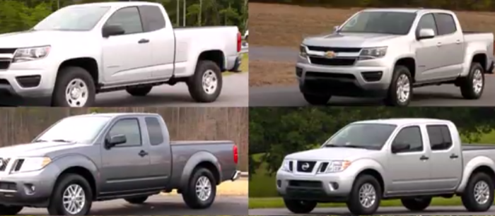 2017 Small Pickup Truck Top Crash Ratings