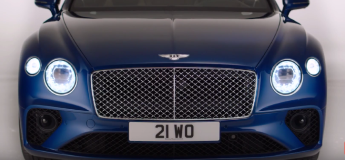 2018 Bentley Continental GT Cut Crystal Headlights & Design Explained – Video