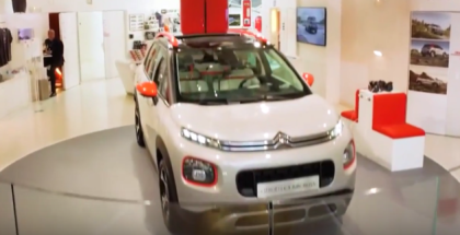 2018 Citroen C3 Aircross At Citroën's International Showcase