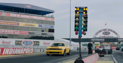 2018 Dodge Challenger SRT Demon Drag Racing & Launch