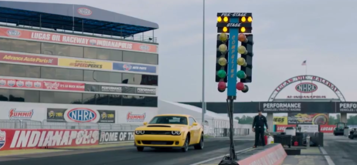 2018 Dodge Challenger SRT Demon Drag Racing & Launch – Video