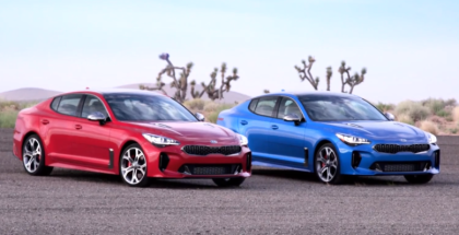 2018 Kia Stinger GT2 RWD & AWD US Spec