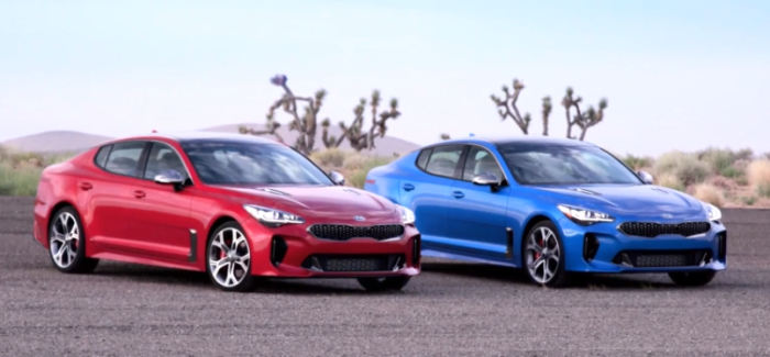2018 Kia Stinger GT2 RWD & AWD US Spec – Video