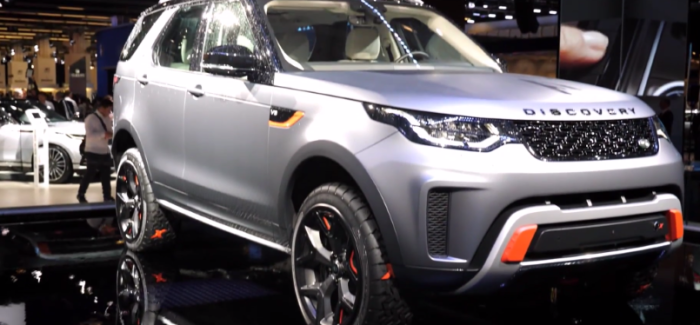 2018 Land Rover Discovery SVX & Jaguar At Frankfurt Motor Show – Video