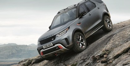 2018 Land Rover Discovery SVX With 525PS