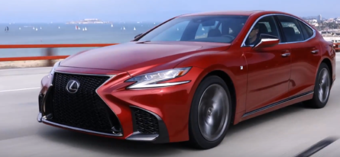 2018 Lexus LS 500 F Sport & LS 500h AWD – Video | DPCcars