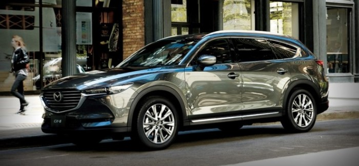 2018 Mazda CX-8 Unveiling – Video