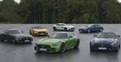 2018 Mercedes AMG GT Family