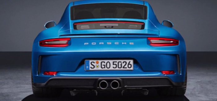2018 Porsche 911 GT3 Touring Package – Video