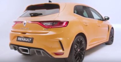 2018 Renault Megane RS Exhaust Sound