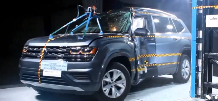 2018 VW Atlas Crash Test – Video