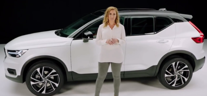 2018 Volvo Xc40 Parking Assist Video Dpccars