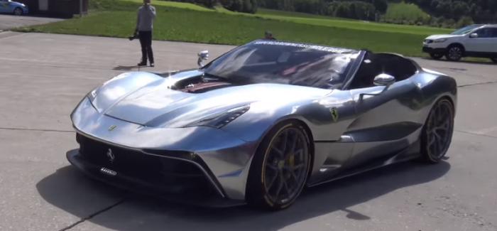 $4.2 Million Ferrari F12 TRS – Video