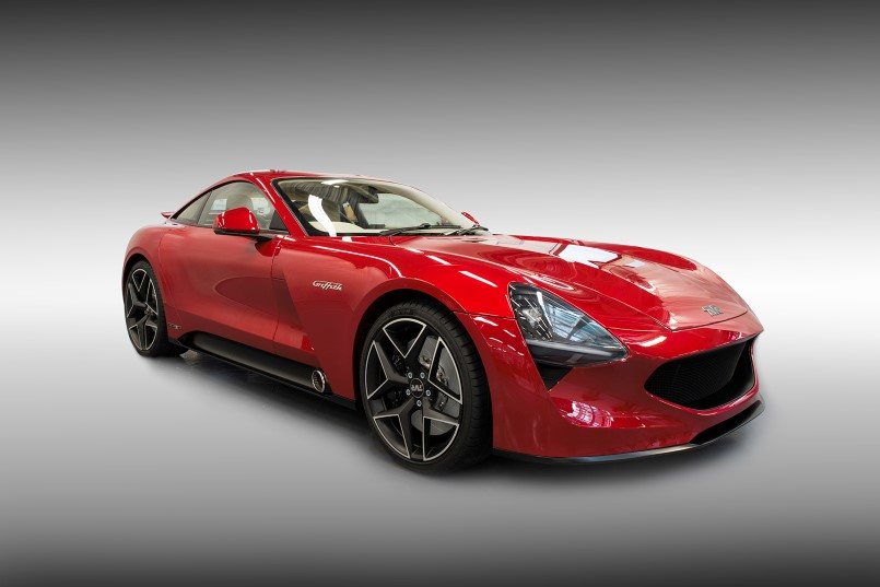 new 500hp tvr griffith video dpccars. Black Bedroom Furniture Sets. Home Design Ideas
