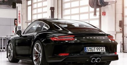 Black 2018 Porsche GT3 Touring Package