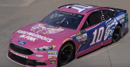 Danica Patrick Pink Ford Fusion Race Car