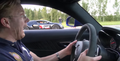 Drag Race - Mercedes-AMG GT S Coupe vs Bugatti Veyron 16 (1)
