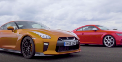 Drag Race - Nissan GT-R vs Audi TT RS (1)