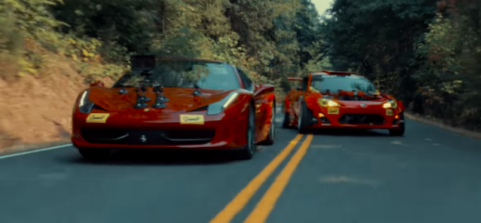 Ferrari Powered Toyota Crashes – Video